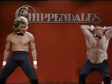 Chippendales Meme - chris farley gif find share on giphy