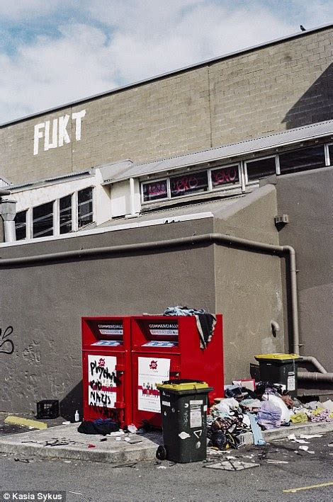 Photography Series Captures Illegal Street Art Of Newtown