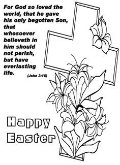 He Is Risen coloring page | Easter coloring pages, Easter colouring, Christian coloring