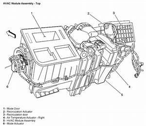 What Is The Proper Procedure For Replacing The A  C Door Actuator On My 2005 Silverado  This