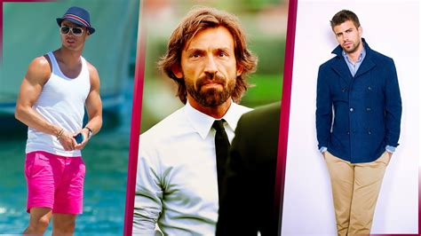 Top 30 Most Elegant And Handsome Football Players In The