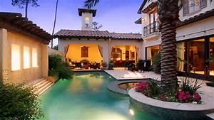 Mexican Hacienda Style House - YouTube