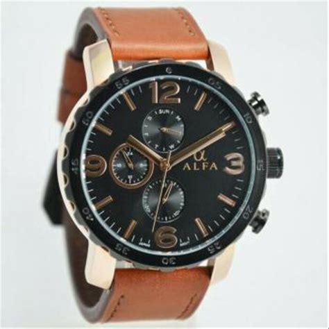 Jam Tangan Alba Cowok 2 jual jam tangan fashion pria cowok alfa original