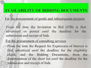 property and supply management w introduction to ra With government bidding documents