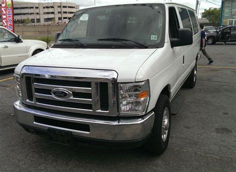 Sell Used 2012 Ford Econoline 15 Passenger Van 5.4l 8 In