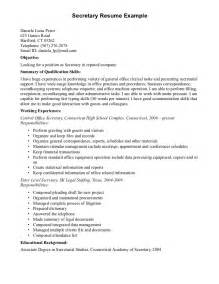 resume cover letter sles government resume cover