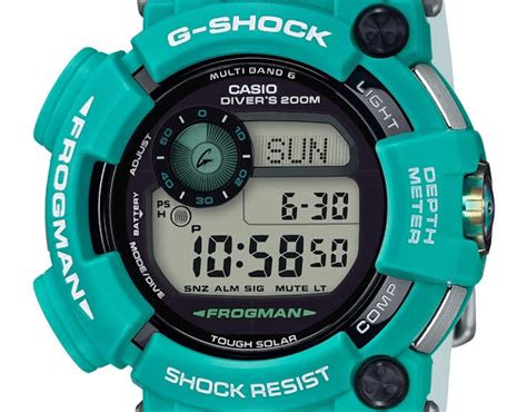 Casio G Shock Introduces New Limited Edition Turquoise