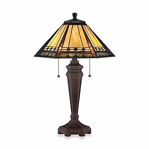 quoizelr arden tiffany 2 light table lamp bed bath beyond With arden tiffany style quoizel floor lamp