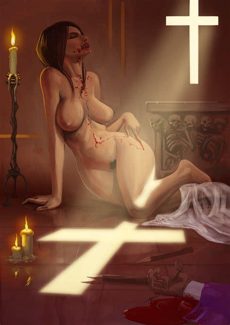 Naked Vampire Heretic Vampire Girls Porn Luscious