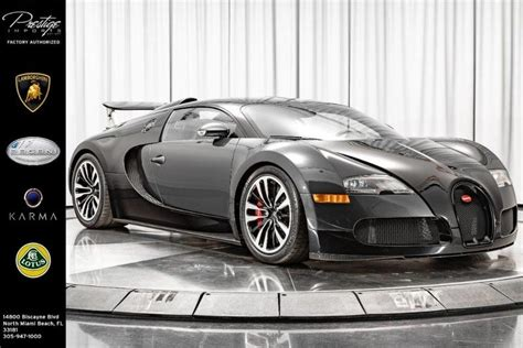 The development of the bugatti veyron was one of the greatest technological challenges ever known in the automotive industry. 2009 Bugatti Veyron North Miami Beach FL 33747908