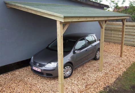 abri de voiture en bois abri pour voiture en bois