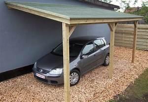 Abri Voiture En Bois : abri pour voiture en bois ~ Nature-et-papiers.com Idées de Décoration