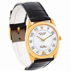 Rolex Cellini Danaos 4233 18k Yellow Gold Mens Watch