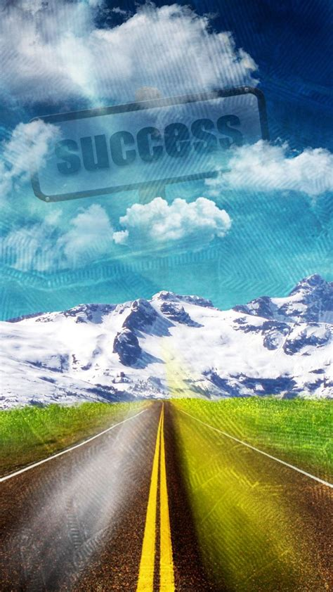 road  success wallpaper