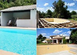 prix d39une piscine enterree With cout de construction d une piscine