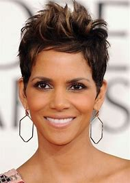 Halle Berry Short Hairstyle