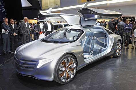 Mercedes Benz F125 Concept At Frankfurt Motor Show