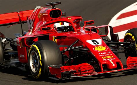 wallpapers sebastian vettel close  raceway