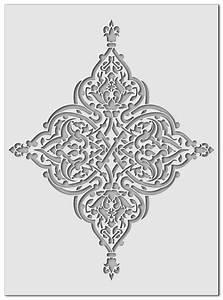 Schablone Wand Barock : wandschablonen arabeske schablono ~ Bigdaddyawards.com Haus und Dekorationen