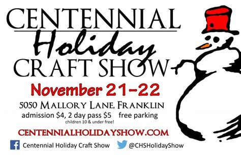 centennial high school crafts fair
