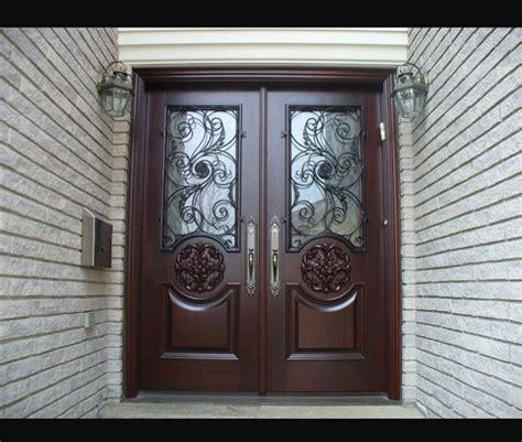 Double Doors Exterior Wood Double Doors