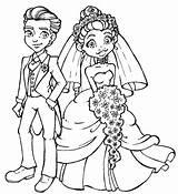 Groom Bride Coloring Drawing Stamps Draw Digi Cartoon Couple Modern Printable Couples Drawings Digital Hang Outline Printables Brides Popular Children sketch template