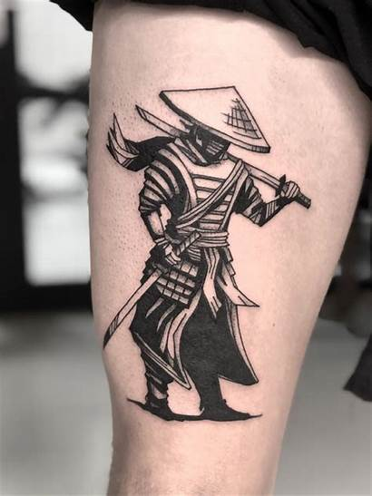 Ronin Samurai Leg Upper Tattoo Tattoodo Uploaded