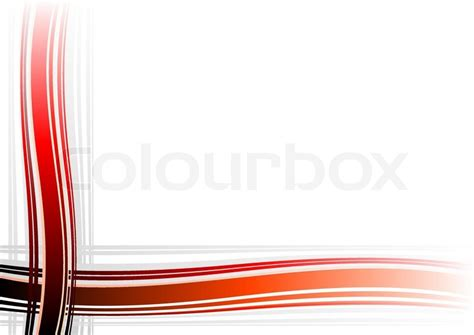 Corner Decoration On The White Background  Stock Vector
