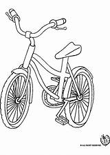 Bicycle Bike Coloring Transportation Printable Kb sketch template