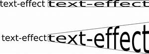 Vectorized Text Effects/Transformations: Stretching ...