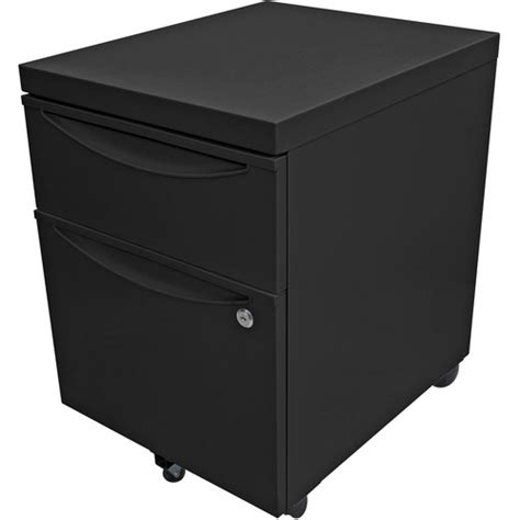 Lockable Pedestal Cabinets by Luxor Mobile Pedestal File Cabinet With Locking Kdpedestal Bk