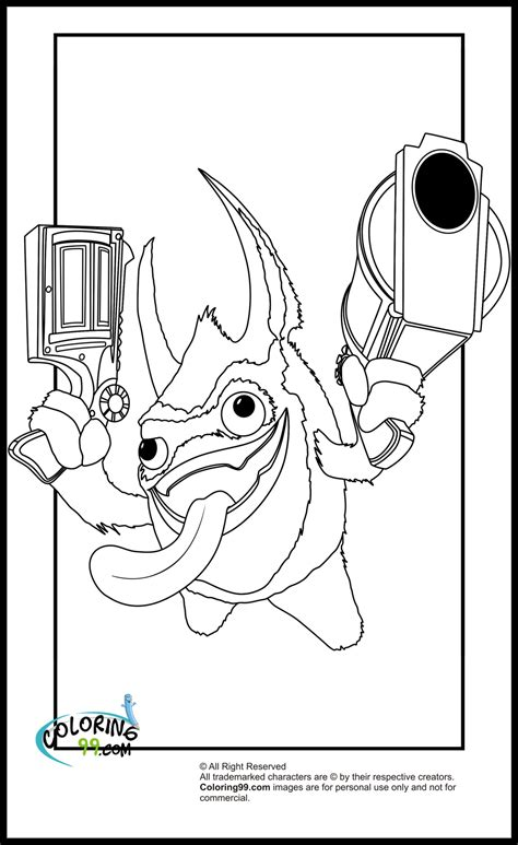 Skylanders Coloring Pages - GetColoringPages.com | 773x474