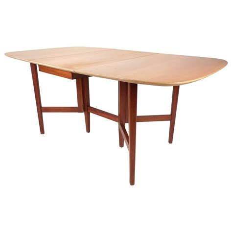 modern dining table legs mid century modern gate leg dining table for sale at 1stdibs
