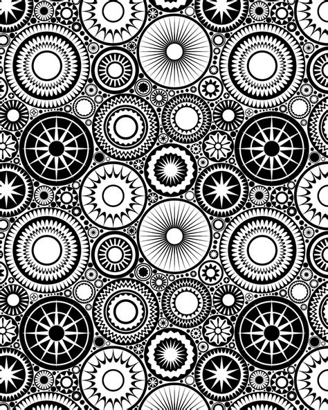 designs to color these printable mandala and abstract coloring pages