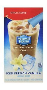 Too bad maxwell house discontinued it. Maxwell House International Coffee French Vanilla Iced ...