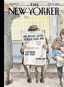 November New Yorker cover captures America's election ...