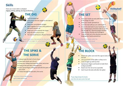 Volleyball Skills Volleyball Skills Model Provided By