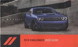 2019 Dodge Challenger User Guide Owner U0026 39 S Manual Original