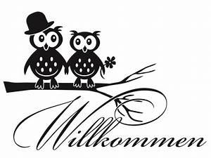 Herzlich Willkommen Bilder Zum Ausdrucken : wandtattoo willkommen nr 2 flur wohnr ume wandtattoo ~ Eleganceandgraceweddings.com Haus und Dekorationen