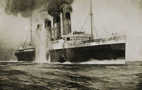 when did the lusitania sink dinge en goete things and stuff this day in history