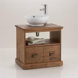 meuble sous lavabo de salle de bain lindley la redoute With salle de bain meuble sous lavabo