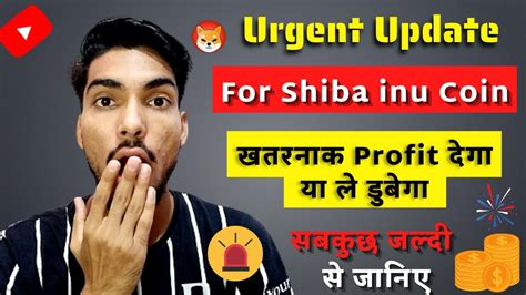 Urgent Update For Shiba inu Coin | Shiba Coin Ready To ...