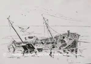 Dessin Bateau Au Port by Dessins Encre Et Lavis 233 Tudes Pour R 233 Aliser Des Tableaux