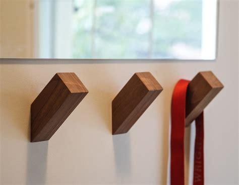 Wallnuts™ Modern Wall Hooks Handmade From Beautiful