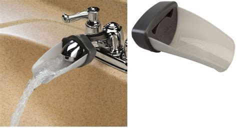 Bathtub Faucet Extender by Faucet Extender Helps Water Flow Out Farther Extender