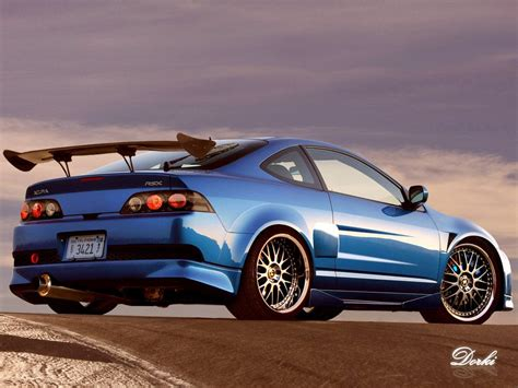 dished acura rsx rims like crazy rpm city
