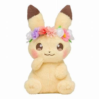Pikachu Pokemon Plush Eevee Doll Easter Japan