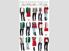 Mix & Match Holiday Fashion ⋆ Sugar, Spice and Glitter