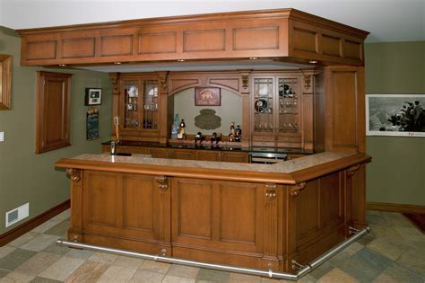 Custom Built Home Bars by Home Bars Custom Cabinetry By Ken Leech