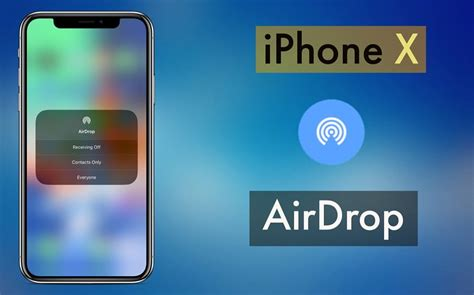 where my iphone where is airdrop on iphone x here s how to enable or